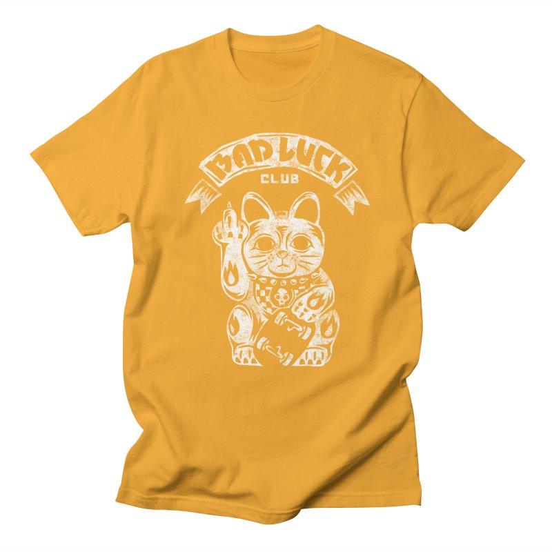 Bad Luck Club Women's Regular Unisex T-Shirt by saimen's Artist Shop