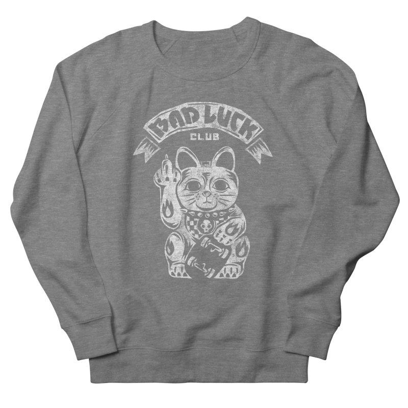 Bad Luck Club Men's French Terry Sweatshirt by saimen's Artist Shop