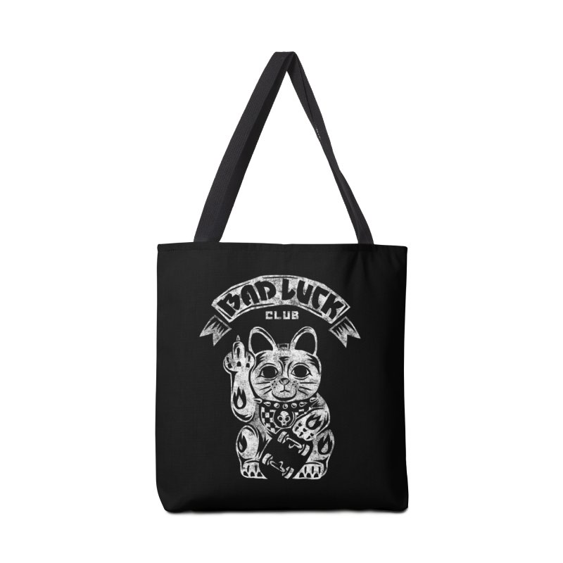 Bad Luck Club Accessories Tote Bag Bag by saimen's Artist Shop