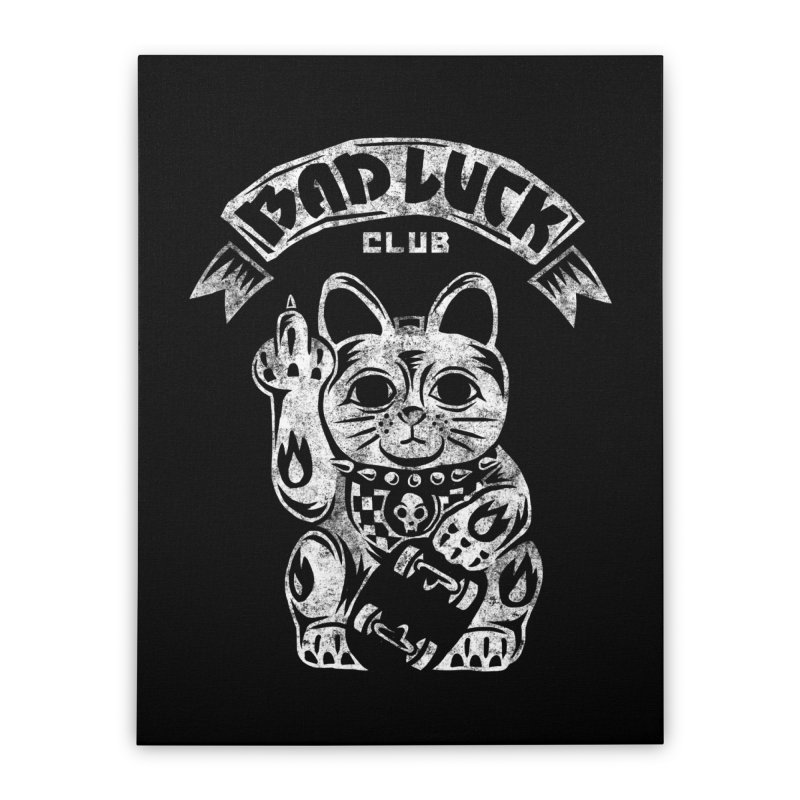 Bad Luck Club Home Stretched Canvas by saimen's Artist Shop
