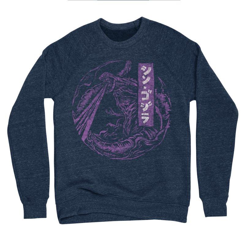 Shin Gojira Women's Sponge Fleece Sweatshirt by saimen's Artist Shop