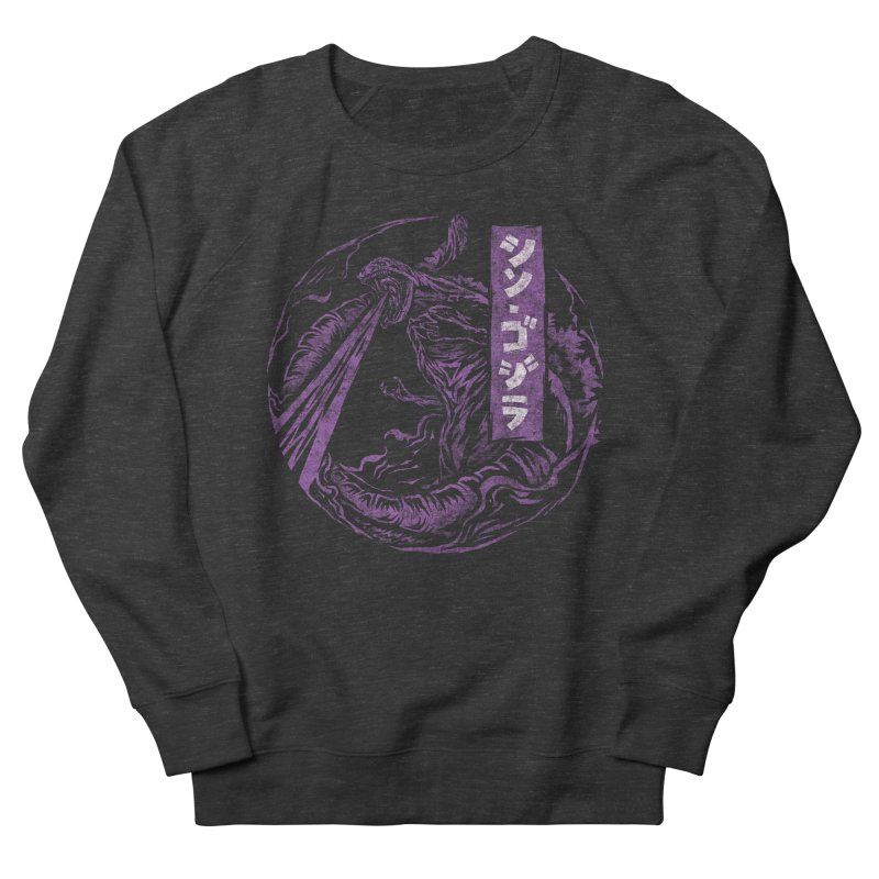Shin Gojira Women's French Terry Sweatshirt by saimen's Artist Shop