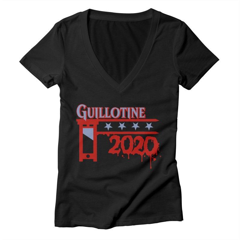 Guillotine 2020 Women's V-Neck by saintdevil's Artist Shop