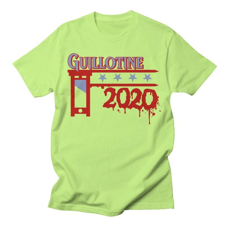 Guillotine 2020 Men's T-Shirt by saintdevil's Artist Shop