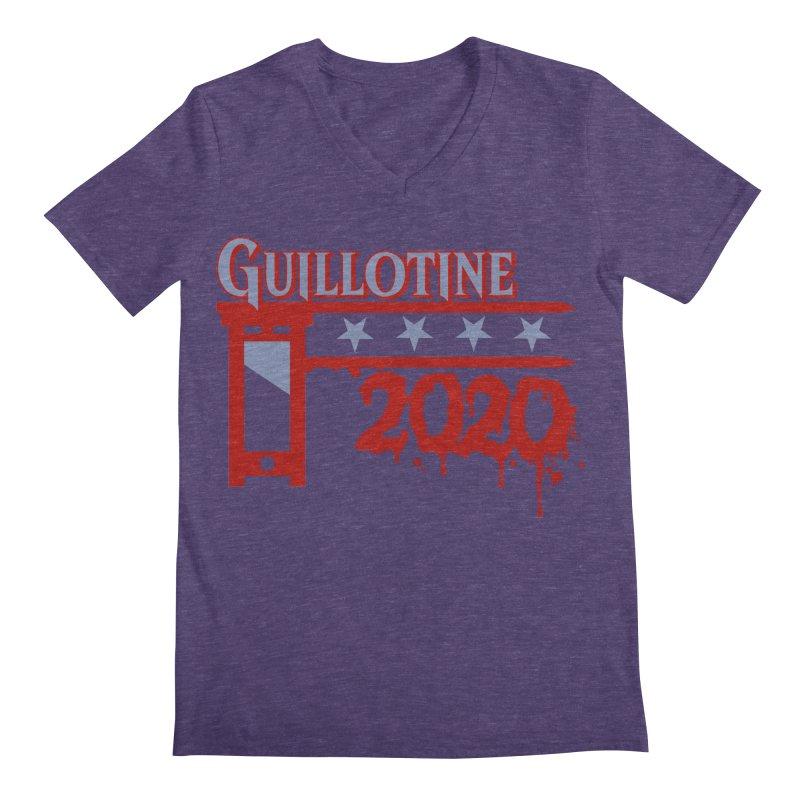 Guillotine 2020 Men's V-Neck by saintdevil's Artist Shop