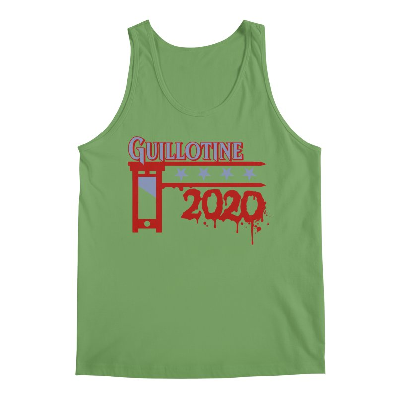 Guillotine 2020 Men's Tank by saintdevil's Artist Shop