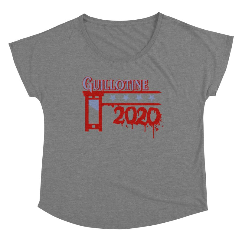 Guillotine 2020 Women's Scoop Neck by saintdevil's Artist Shop