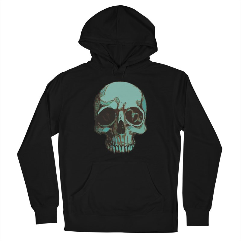skull i (sketch) Men's Pullover Hoody by saintdevil's Artist Shop