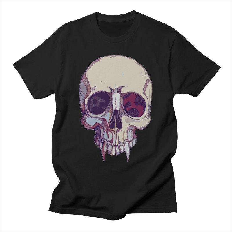 skull ii (vampire) Men's T-Shirt by saintdevil's Artist Shop