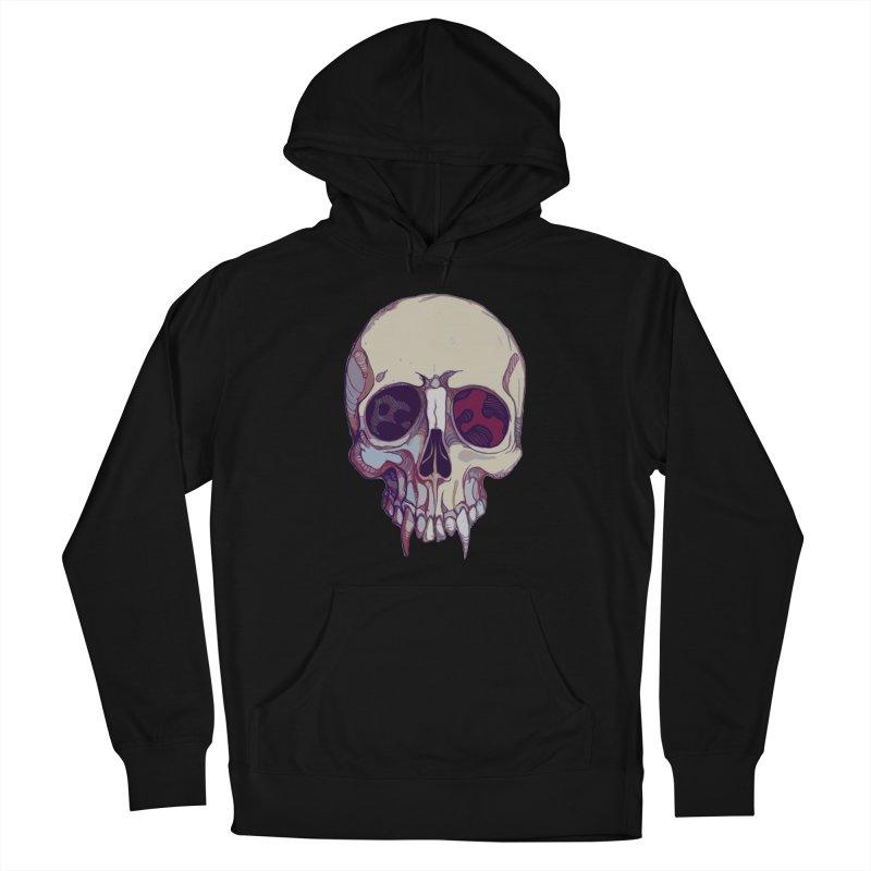 skull ii (vampire) Women's Pullover Hoody by saintdevil's Artist Shop