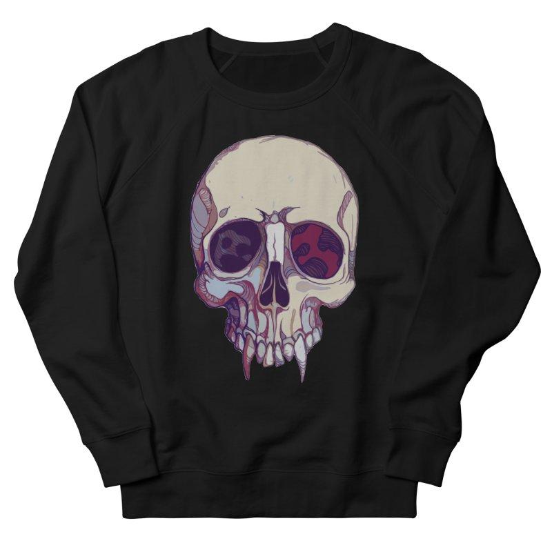 skull ii (vampire) Men's Sweatshirt by saintdevil's Artist Shop