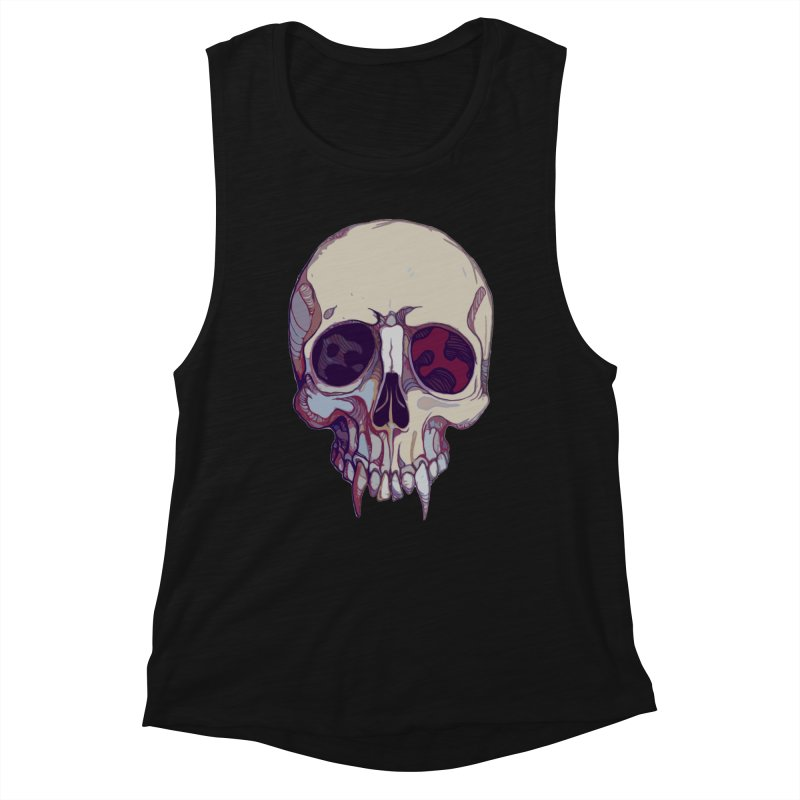 skull ii (vampire) Women's Tank by saintdevil's Artist Shop