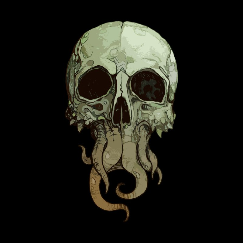 skull iii (cthulhu) by saintdevil's Artist Shop