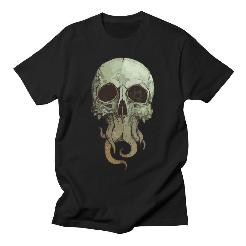 skull iii (cthulhu) Men's T-Shirt by saintdevil's Artist Shop