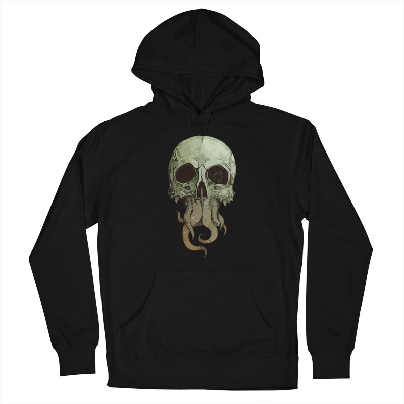 skull iii (cthulhu) Women's Pullover Hoody by saintdevil's Artist Shop