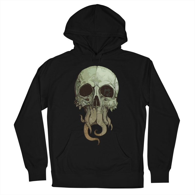 skull iii (cthulhu) Men's French Terry Pullover Hoody by saintdevil's Artist Shop
