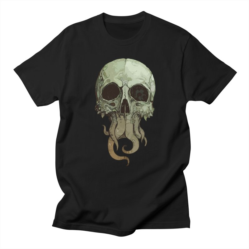 skull iii (cthulhu) Men's T-Shirt by saintdevil's Artist Shop
