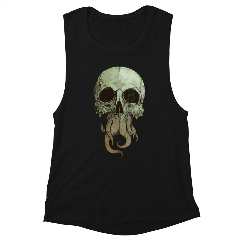 skull iii (cthulhu) Women's Tank by saintdevil's Artist Shop