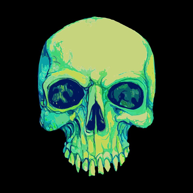 skull iv (skeletor) Kids T-Shirt by saintdevil's Artist Shop