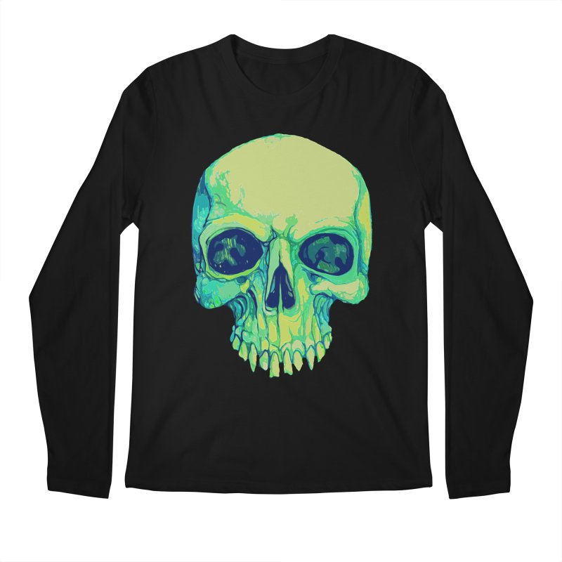 skull iv (skeletor) Men's Longsleeve T-Shirt by saintdevil's Artist Shop