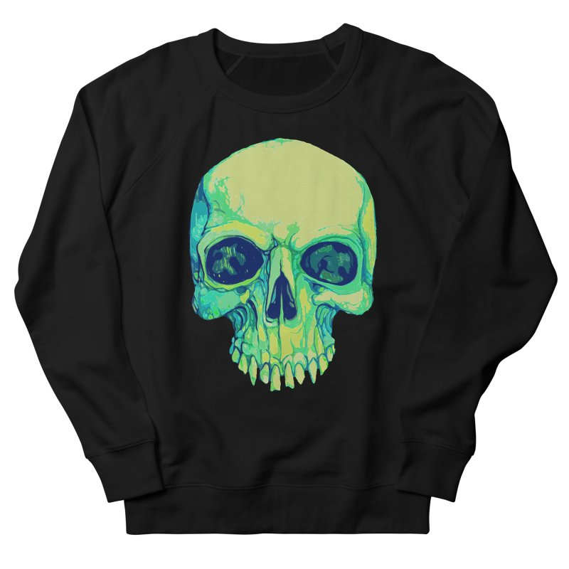 skull iv (skeletor) Men's French Terry Sweatshirt by saintdevil's Artist Shop