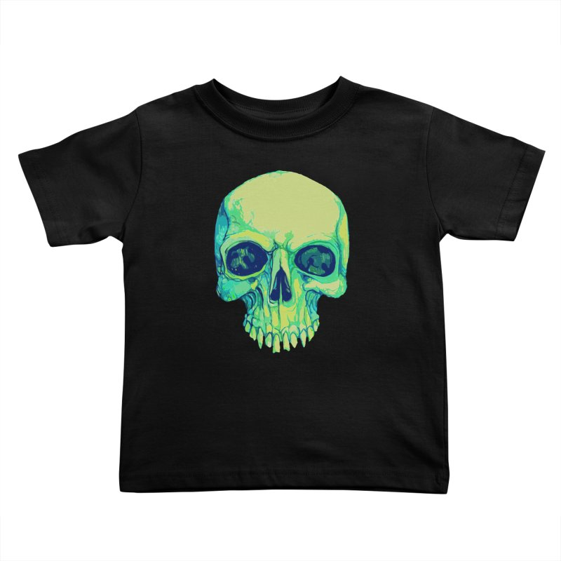 skull iv (skeletor) Kids Toddler T-Shirt by saintdevil's Artist Shop