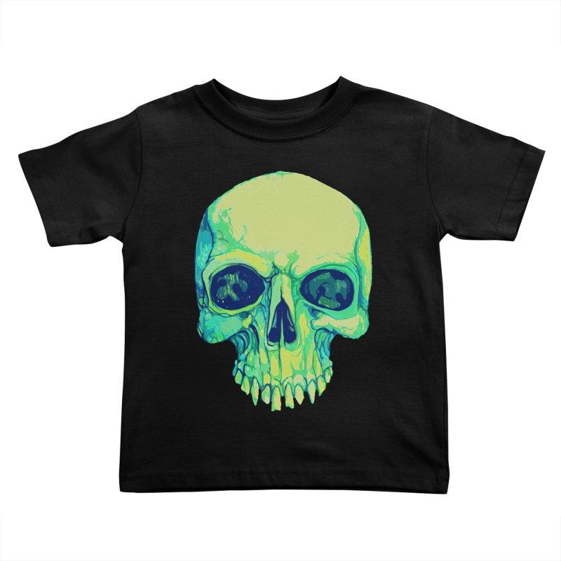 skull iv (skeletor) Kids Toddler T-Shirt by saintdevil's Artist Shop