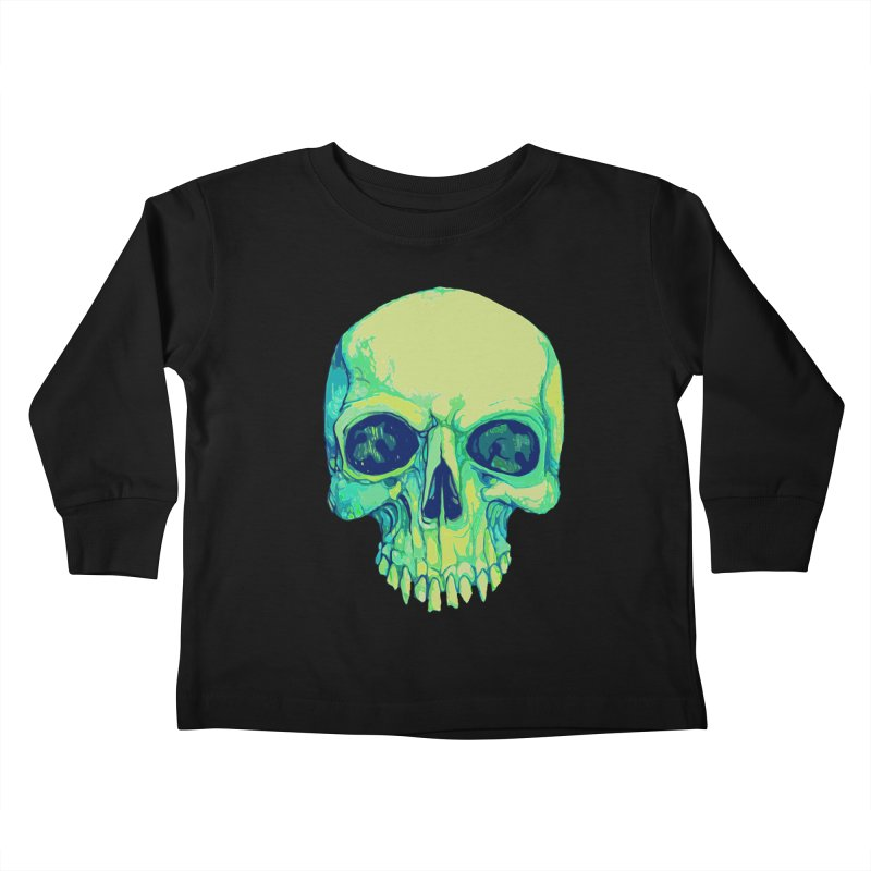 skull iv (skeletor) Kids Toddler Longsleeve T-Shirt by saintdevil's Artist Shop