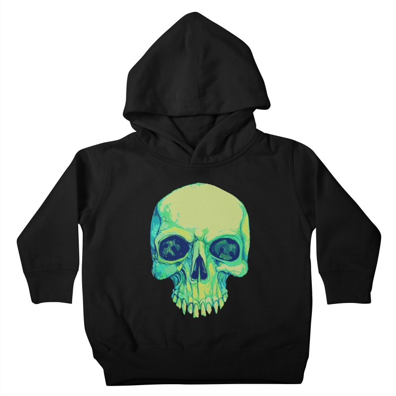 skull iv (skeletor) Kids Toddler Pullover Hoody by saintdevil's Artist Shop