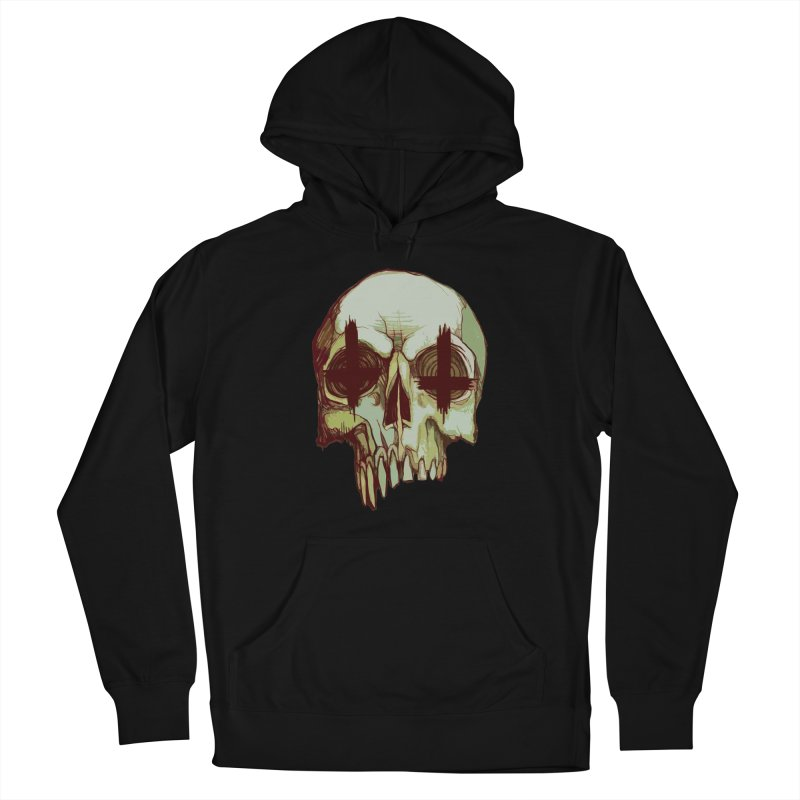 skull vi (evil) Women's Pullover Hoody by saintdevil's Artist Shop