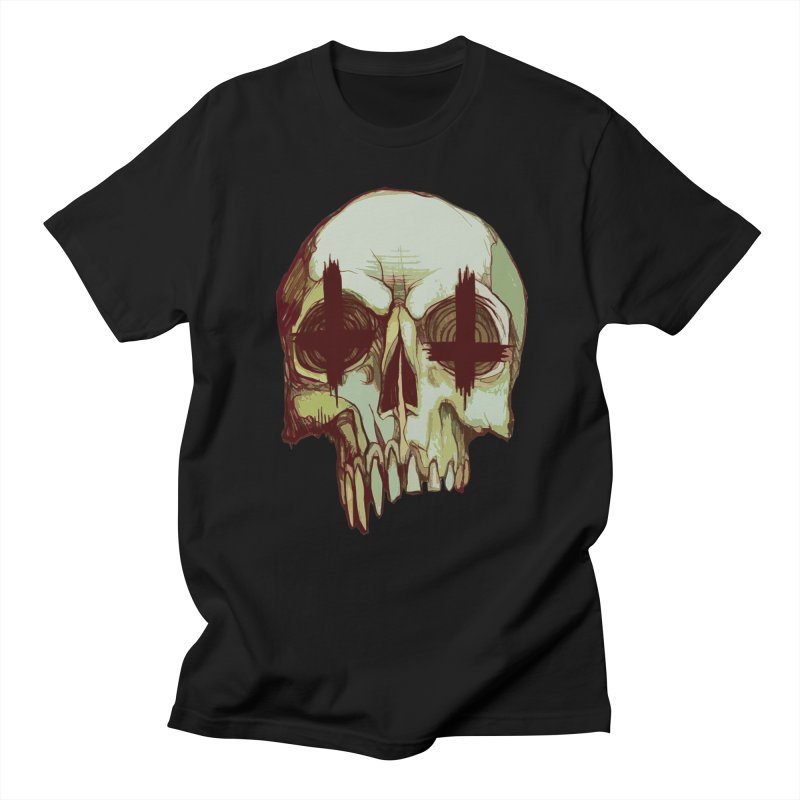 skull vi (evil) Men's T-Shirt by saintdevil's Artist Shop