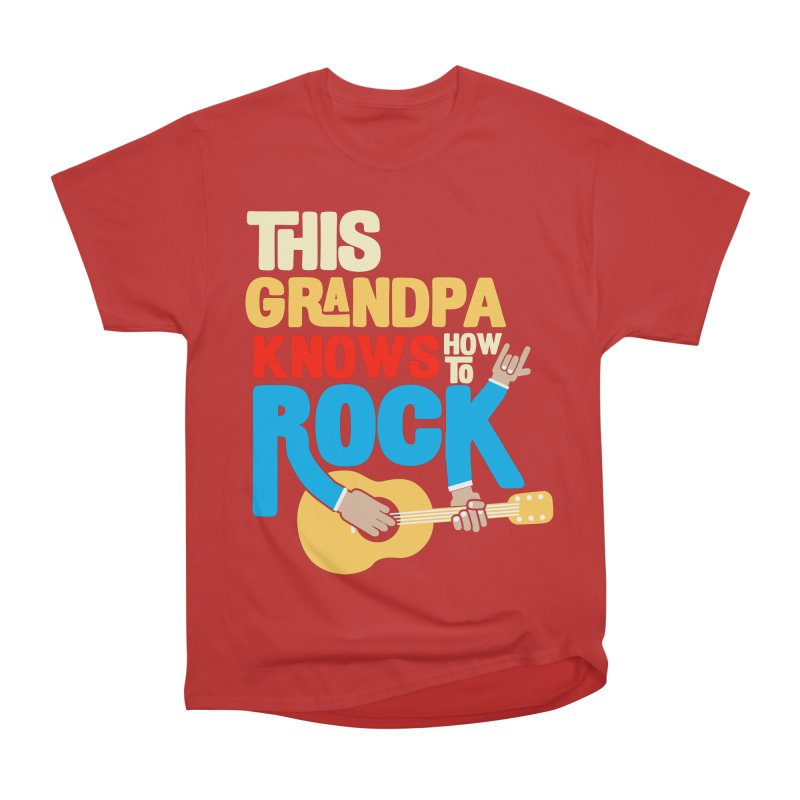 This grandpa know how to rock Men's Heavyweight T-Shirt by Saksham Artist Shop