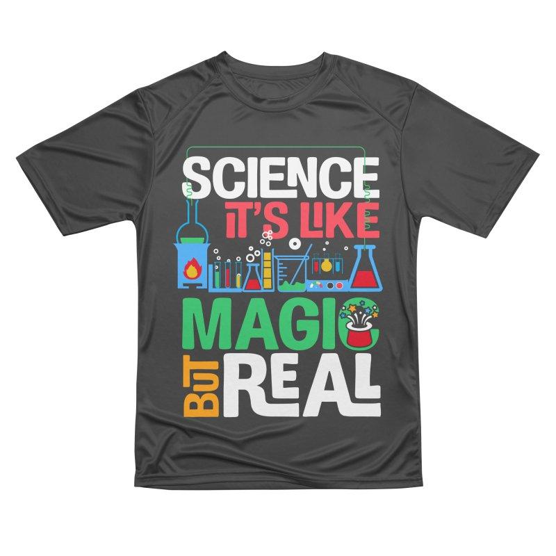 Science its like magic Men's Performance T-Shirt by Saksham Artist Shop