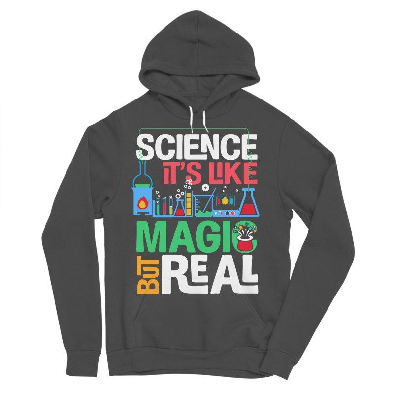 Science its like magic Men's Sponge Fleece Pullover Hoody by Saksham Artist Shop