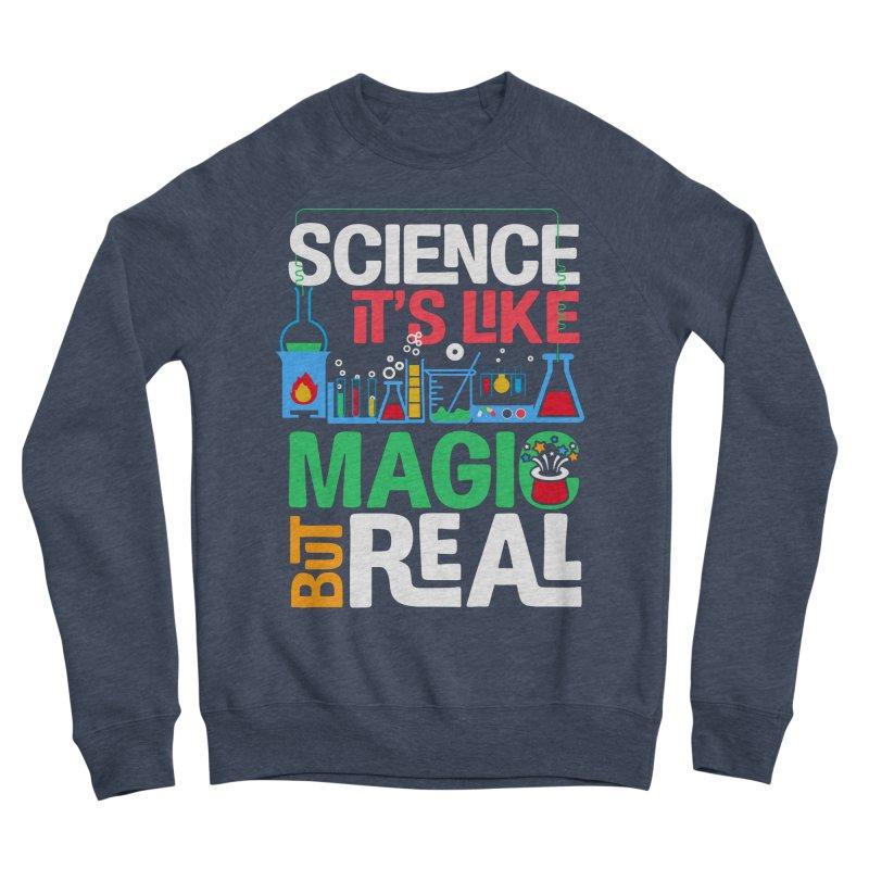 Science its like magic Men's Sponge Fleece Sweatshirt by Saksham Artist Shop