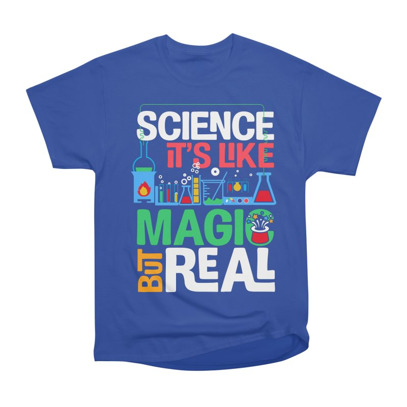 Science its like magic Men's Heavyweight T-Shirt by Saksham Artist Shop