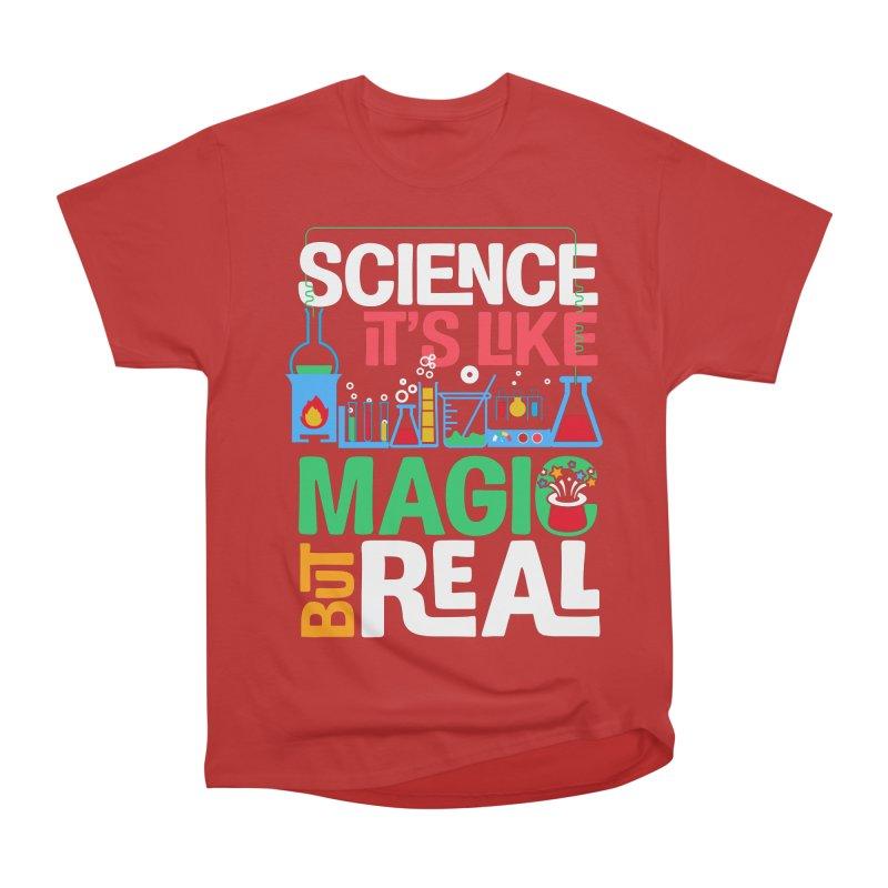 Science its like magic Women's Heavyweight Unisex T-Shirt by Saksham Artist Shop
