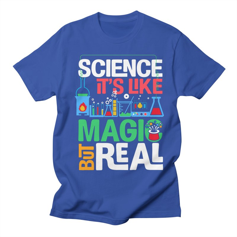 Science its like magic Men's Regular T-Shirt by Saksham Artist Shop