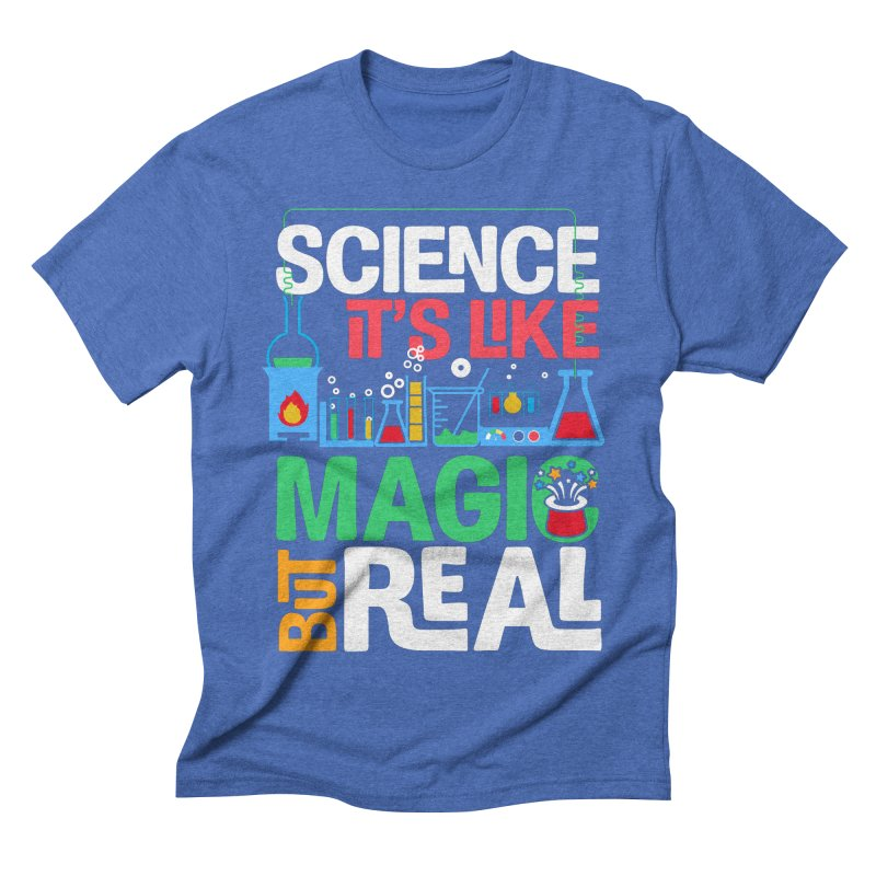 Science its like magic Men's T-Shirt by Saksham Artist Shop