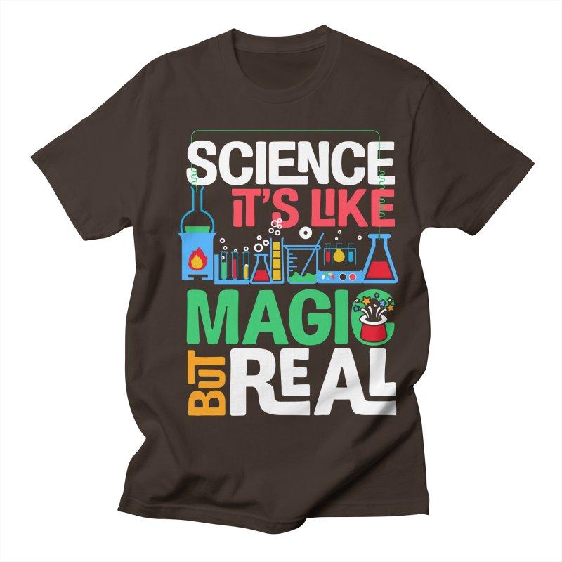 Science its like magic Men's Regular T-Shirt by Saksham Artist Shop