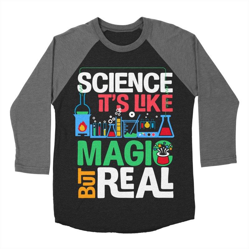 Science its like magic Men's Baseball Triblend Longsleeve T-Shirt by Saksham Artist Shop