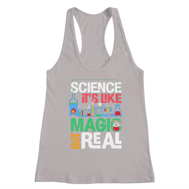 Science its like magic Women's Racerback Tank by Saksham Artist Shop