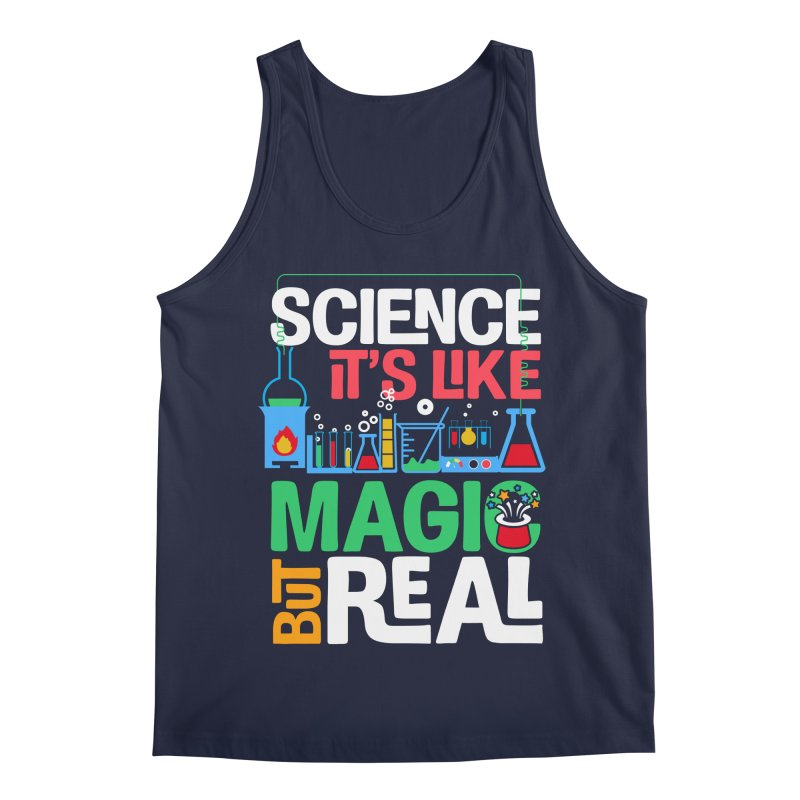 Science its like magic Men's Regular Tank by Saksham Artist Shop