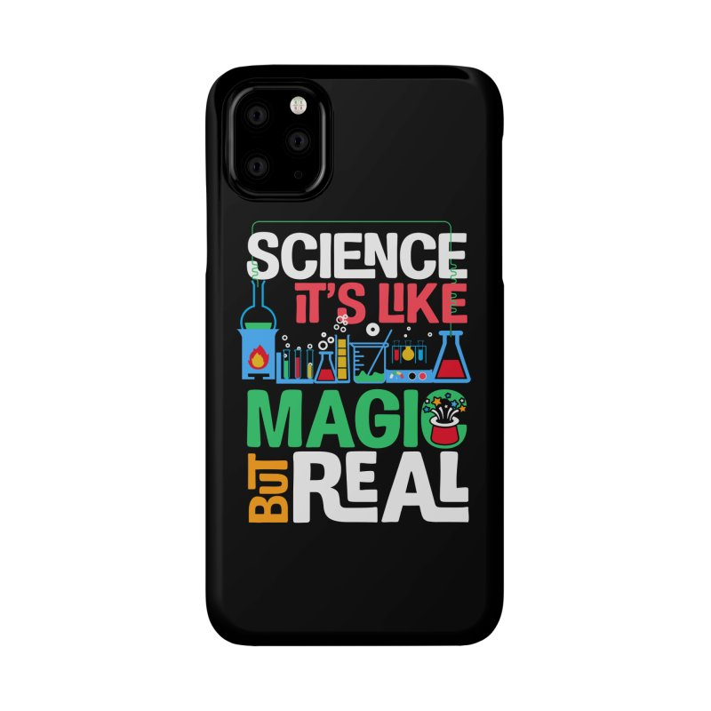Science its like magic Accessories Phone Case by Saksham Artist Shop