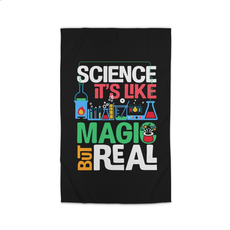 Science its like magic Home Rug by Saksham Artist Shop