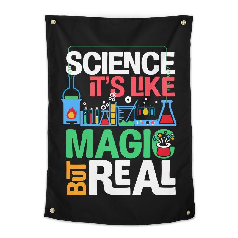 Science its like magic Home Tapestry by Saksham Artist Shop