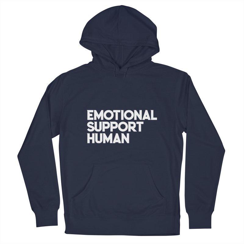 EMOTIONAL SUPPORT HUMAN Men's Pullover Hoody by Saksham Artist Shop