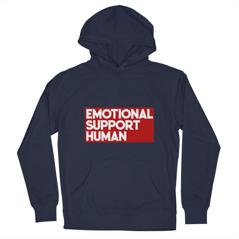EMOTIONAL SUPPORT HUMAN 2020 Men's Pullover Hoody by Saksham Artist Shop