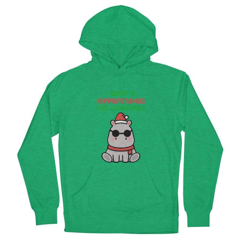I WANT A HIPPOPOTAMUS FOR CHRISTMAS Edit Men's Pullover Hoody by Saksham Artist Shop