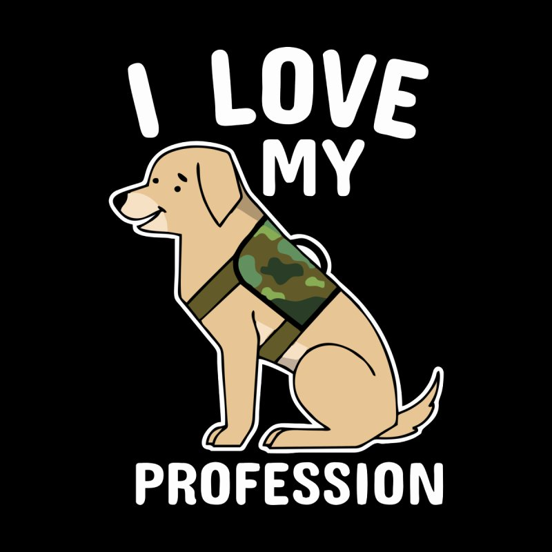 DOG PROFESSION Men's Pullover Hoody by Saksham Artist Shop